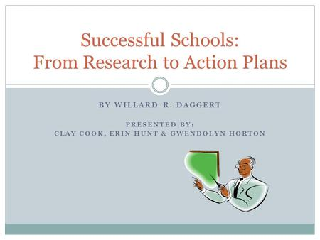 Successful Schools: From Research to Action Plans