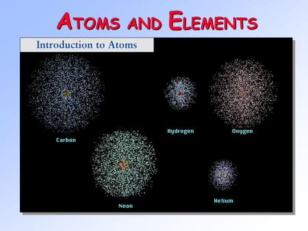 A TOMS AND E LEMENTS Radioactivity One of the pieces of evidence for the fact that atoms are made of smaller particles came from the work of Marie Curie.
