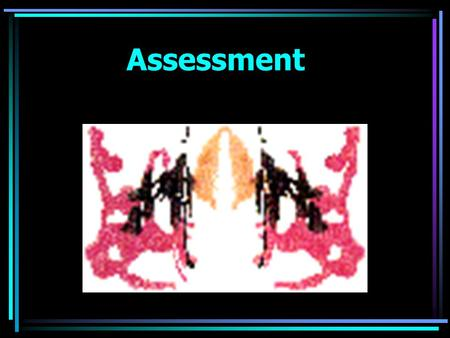 Assessment Personality Assessment Clinical Interviews unstructured interview semistructured interview.
