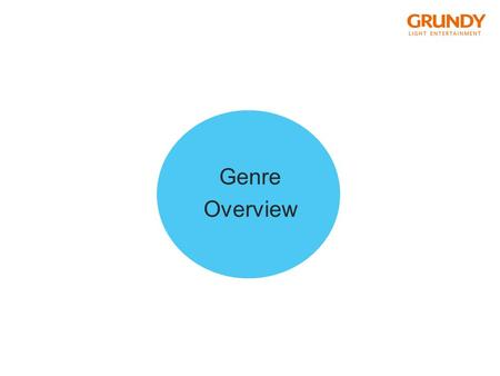 Genre Overview. reality fiction report documentary documentary soap scripted reality authentic fiction daily Soaps telenovela.