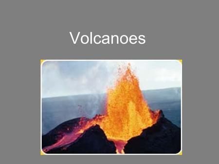 Volcanoes. Volcanic eruptions are among the Earth's most powerful and destructive forces. Volcanoes are also creative forces. The Earth's first oceans.