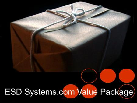 ESD Systems Value Package ESD Systems.com Value Package.