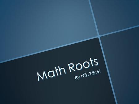 Math Roots By Niki Tilicki. CIRCUM Meaning – around Example: Circumference tells the distance around a circle.