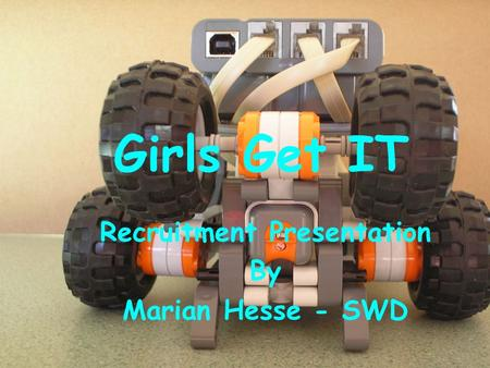 Girls Get IT Recruitment Presentation By Marian Hesse - SWD.