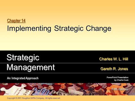 Chapter 14 Implementing Strategic Change