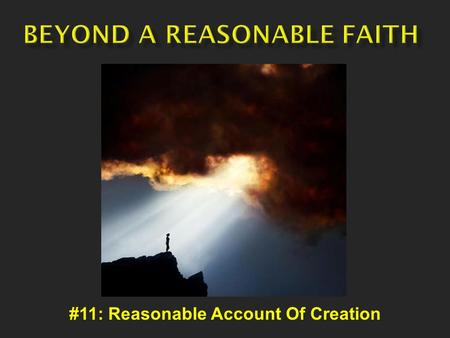#11: Reasonable Account Of Creation. Various Categories Chaos Earth Diver World Parent Emergence Ex Nihilo.