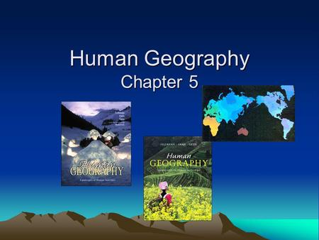 Human Geography Chapter 5. I. Population Geography Demography?