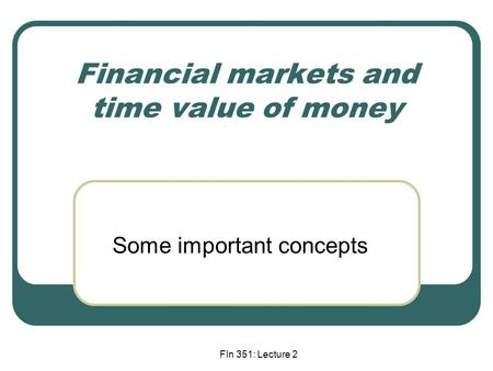 Why the Time Value of Money (TVM) Matters to Investors
