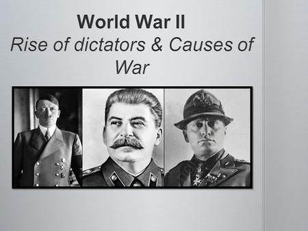 Dictator – A person who rules a country with total authority and often in a cruel or brutal way Dictator – A person who rules a country with total authority.