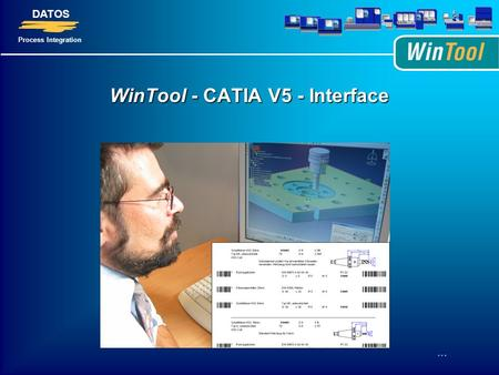 WinTool - CATIA V5 - Interface