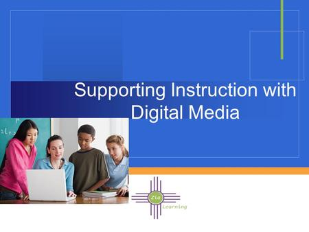Company LOGO Supporting Instruction with Digital Media.