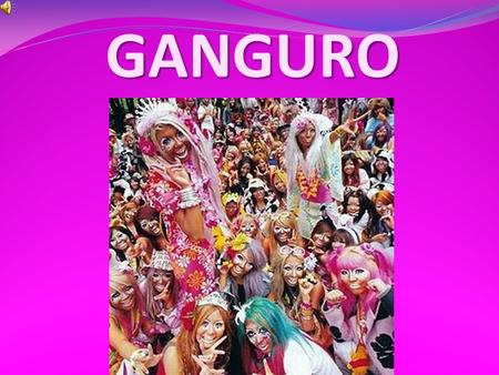 GANGURO. Ganguro (ganguro - literally black face) - a special Japanese youth subculture that originated in the 90th year of the last century. The peak.