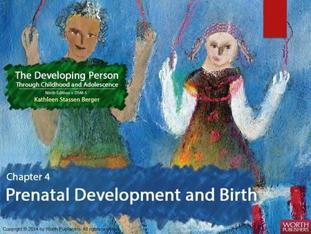 Prenatal Growth Three main periods of prenatal development.
