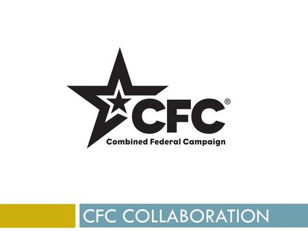 CFC COLLABORATION. MDRT Collaboration Benefits  Increased Strength – stronger voice  Improved Innovation  Advanced Problem Solving  Increased Reach.
