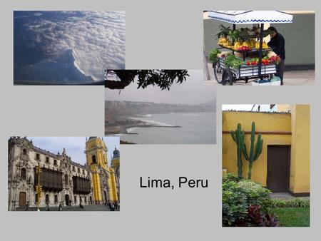 Lima, Peru. Monastery in Lima, complete with the dearly departed.