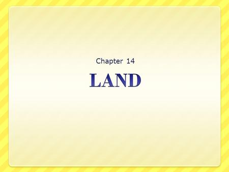 Chapter 14. Section 1 Land use and Land cover URBAN Land that is covered mainly with buildings and roads is called urban land. RURAL Land that contains.