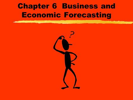 chapter 6 forecasting Chapter 6 time series forecasting a discrete time series is a sequence of time ordered data values, measured in general at fixed time intervals.