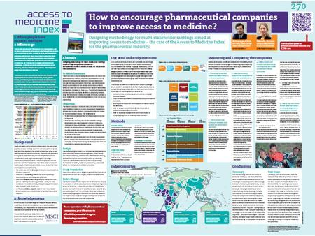 Access to Medicine Index Problem Statement Long-standing debate about: What is the role of the pharmaceutical industry in access to medicines? Where are.