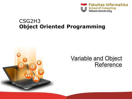 12-CRS-0106 REVISED 8 FEB 2013 CSG2H3 Object Oriented Programming.
