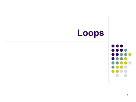 1 Loops. 2 Topics The while Loop Program Versatility Sentinel Values and Priming Reads Checking User Input Using a while Loop Counter-Controlled (Definite)