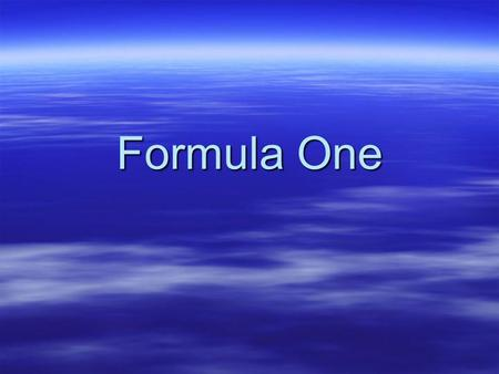 Formula One. F1 Racing  FIA: Federation Internationale de l'Automobile  FIA Formula 1 World Championship  Formula  rules and restrictions.