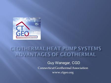 Geothermal Heat Pump Systems Advantages of Geothermal