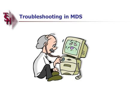 Troubleshooting in MDS. Overview Order Entry Alerts / Holds Invoicing Holds Drop Ship Purchase Order Creation Alerts End of Day Process End of Day Error.