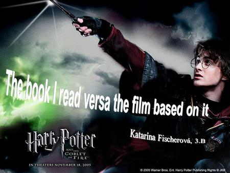Harry Potter and the Goblet of Fire. I would like to point out differences between book and movie and decide what is better - book or movie.