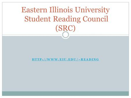 Eastern Illinois University Student Reading Council (SRC)