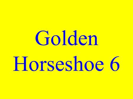 Golden Horseshoe 6 Mother Day originated in what town?