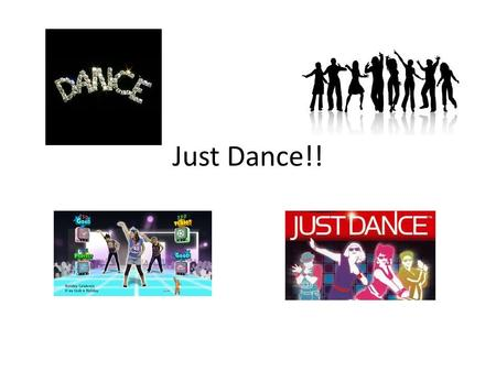 Just Dance!!. Warm Up and Cool Down You want to warm up and cool down to prevent injury.