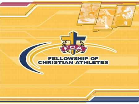 """Impacting the World for Christ through Sports"" The Fellowship of Christian Athletes is touching millions of lives … one heart at a time. Since 1954,"