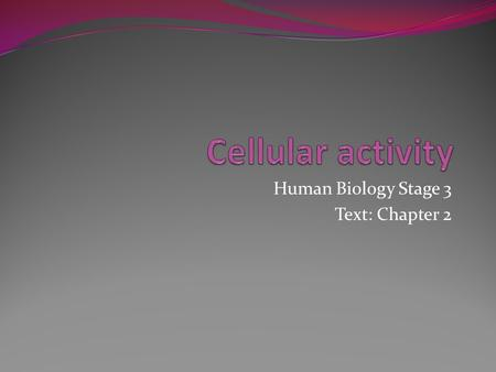 Human Biology Stage 3 Text: Chapter 2. Keywords Diffusion Osmosis Fluid mosaic model Phospholipid bilayer Hydrophobic Hydrophilic Channel proteins Carrier.