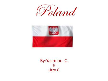 Poland By:Yasmine C. & Litzy C.. Food This is poppy seed bread they used American ingreadence. Poland is notorious for there meat.Were meat comes from.