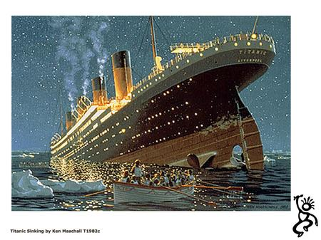The Ship Titanic – trad. 1 A Oh they built the ship Titanic D A to sail the ocean blue A And they thought they had a ship E7 that the water couldn't go.