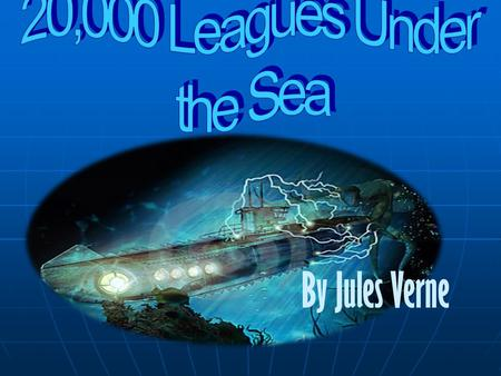 By Jules Verne Summary Part 1 In this part of the book, M. Arronax and Conseil chase what they believe to be a narwhale. They are later knocked off of.