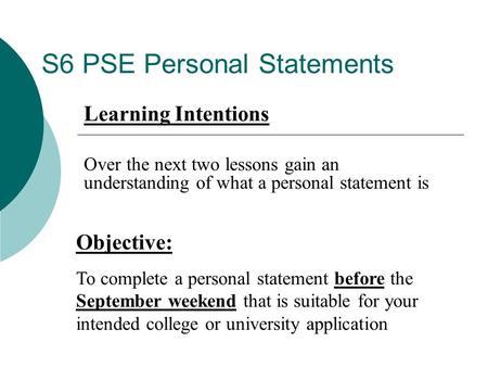 mock personal statement ucas