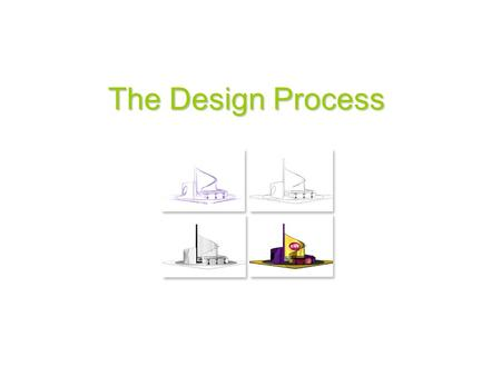 The Design Process. The Design Process The Design Process is a systematic way of working. It is a step-by-step progression which shows the way in which.