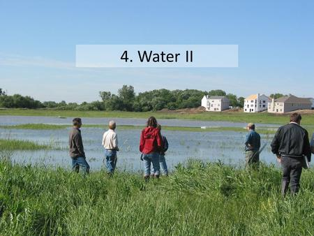 "4. Water II. Section 402 Permits NPDES = National Pollutant Discharge Elimination System (WPDES in Wisconsin) ""The Administrator may… issue a permit for."