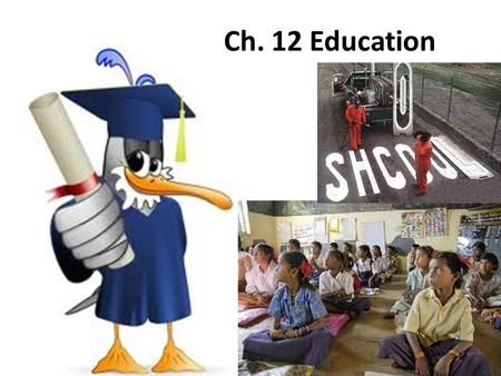 Ch. 12 Education. Development and Structure of Education Bureaucracy in Education Schools today are still based on specialization, rules and procedures,