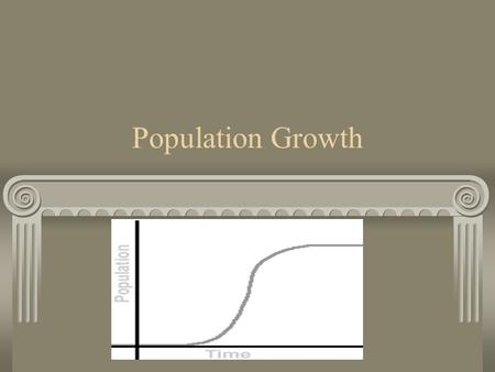 Population Growth. A population is…. A group of organisms, of the same species, that live in the same location. Ex: population of frogs in Lums Pond Ex;