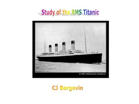 The Titanic was a British Royal Mail Steamer. It took 15,000 ship builders 3 years to build the Titanic. It cost $7.5 million to build in 1909-1912. The.