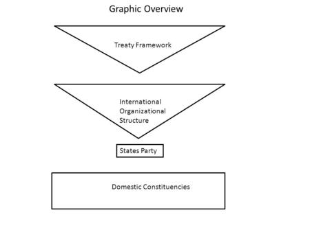 Graphic Overview Treaty Framework International Organizational Structure Domestic Constituencies States Party.