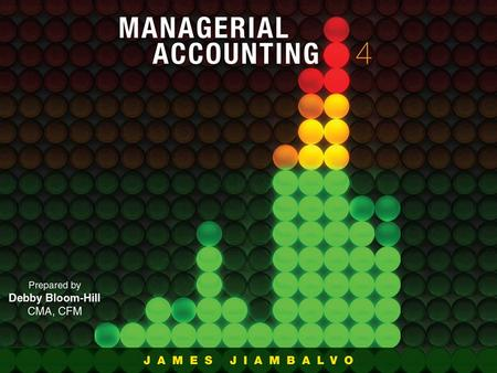 CHAPTER 1 Managerial Accounting In the Information Age Slide 1-2.