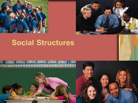 Social Structures. Social Structure Do you think a society can exist without a social structure?