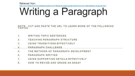 expository essay elaboration