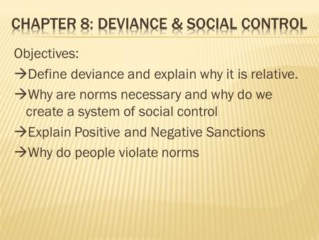 what is deviance essay