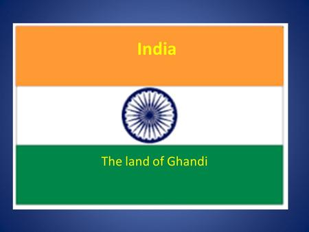 India The land of Ghandi. India Physical Geography – On the Indian subcontinent – Hindu Kush mountains separate the Indian subcontinent from Central Asia.