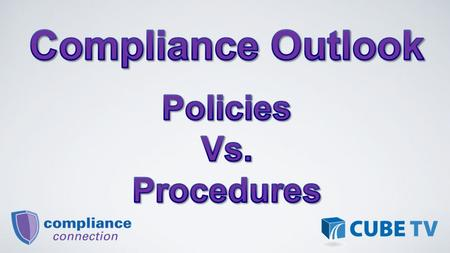 When considering policies and procedures it is easily understood that both are essential in the guidance of credit union operations. Due to the similarities.