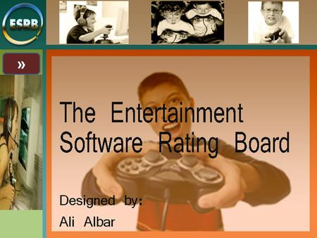 ». What is ESRB? 2 The Entertainment Software Rating Board (ESRB) is a voluntary organization concerned with rating video games. The ESRB was founded.
